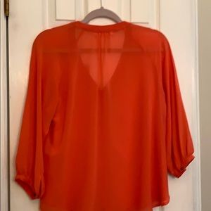 The Impeccable Pig Tops - NWOT coral blouse by Impeccable Pig , size 12